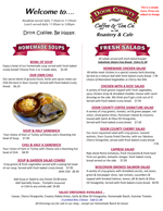 DC Coffee & Tea Menu