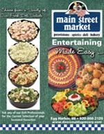 Main Street Market Deli Menu