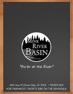Mink River Basin Menu