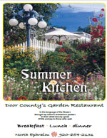 Summer Kitchen Menu