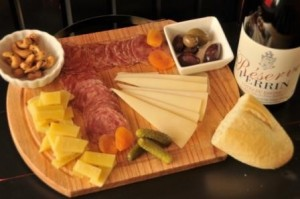Artisan Cheese and Charcutiere Board