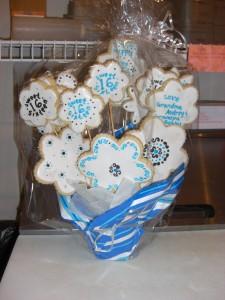 bouquet of cookies