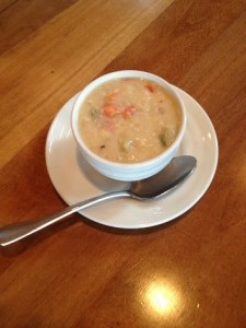 The Cookery's famous Whitefish Chowder
