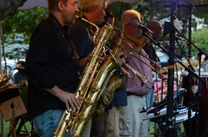 Big Mouth & the Power Tool Horns at Gibraltar Grill, Fish Creek