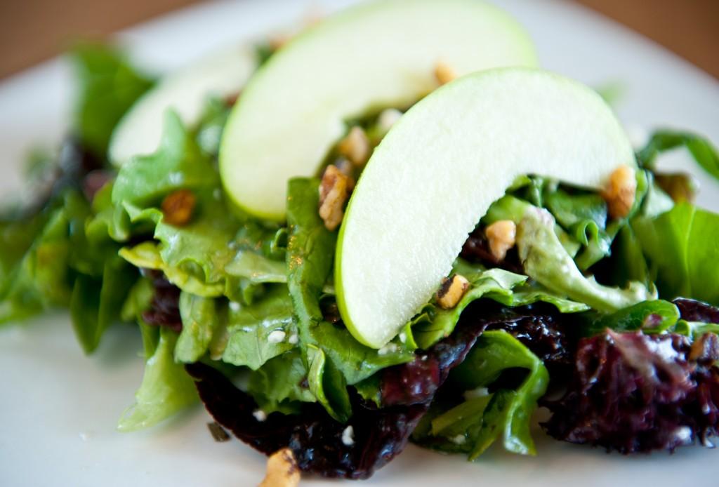 Cookery Cherry Apple Walnut Salad