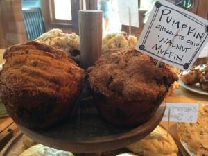 Cookery Pumpkin Chocolate Walnut Muffins