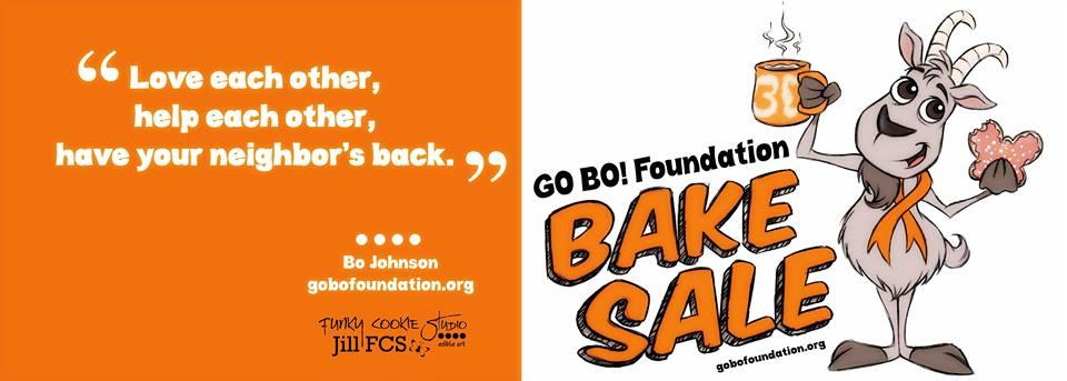 Go Bo Bake Sale logo