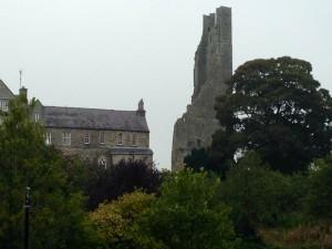 Castle in Ireland by Jeanne Kuhns