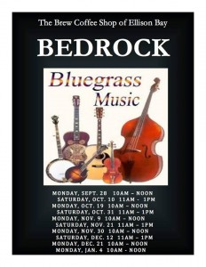 Bedrock Bluegrass at Brew