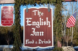 English Inn sign