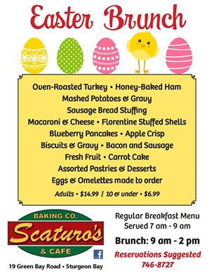 Scaturo's Easter Brunch 2016