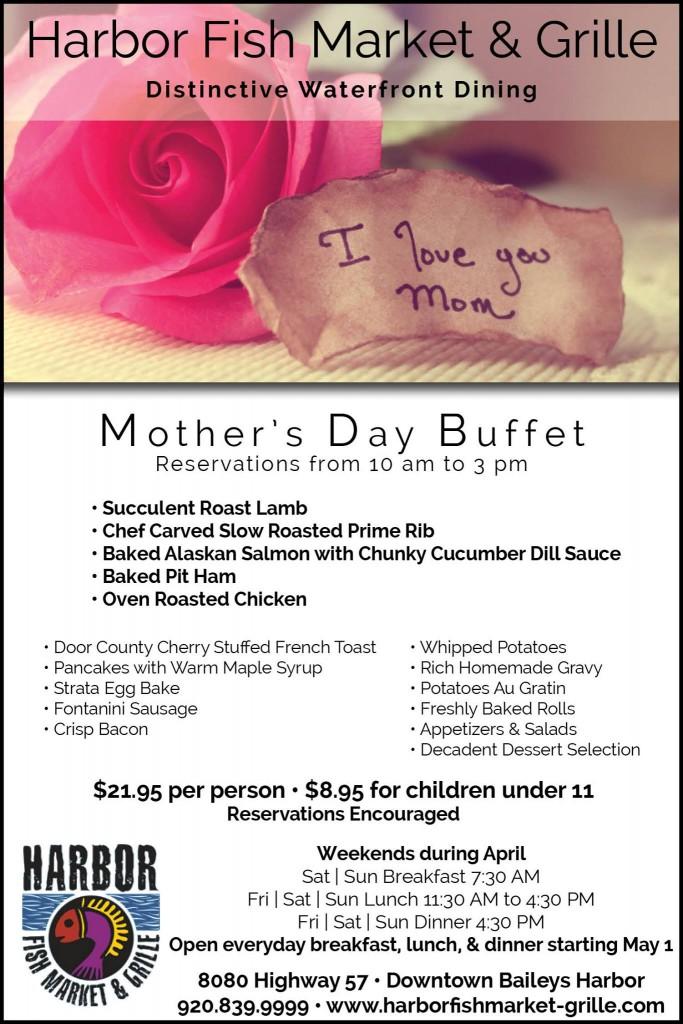 Mothers day brunch HFMarket 2016
