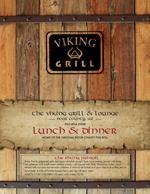 The Viking Grill Menu