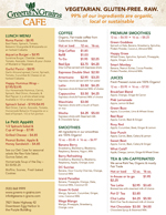 Greens N Grains Menu
